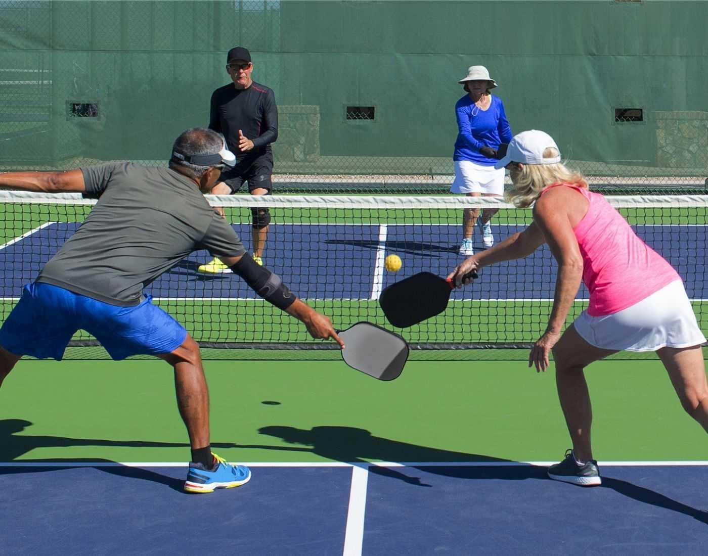 Pickleball racquet sport