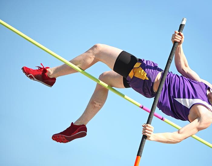 Pole Vault athletic
