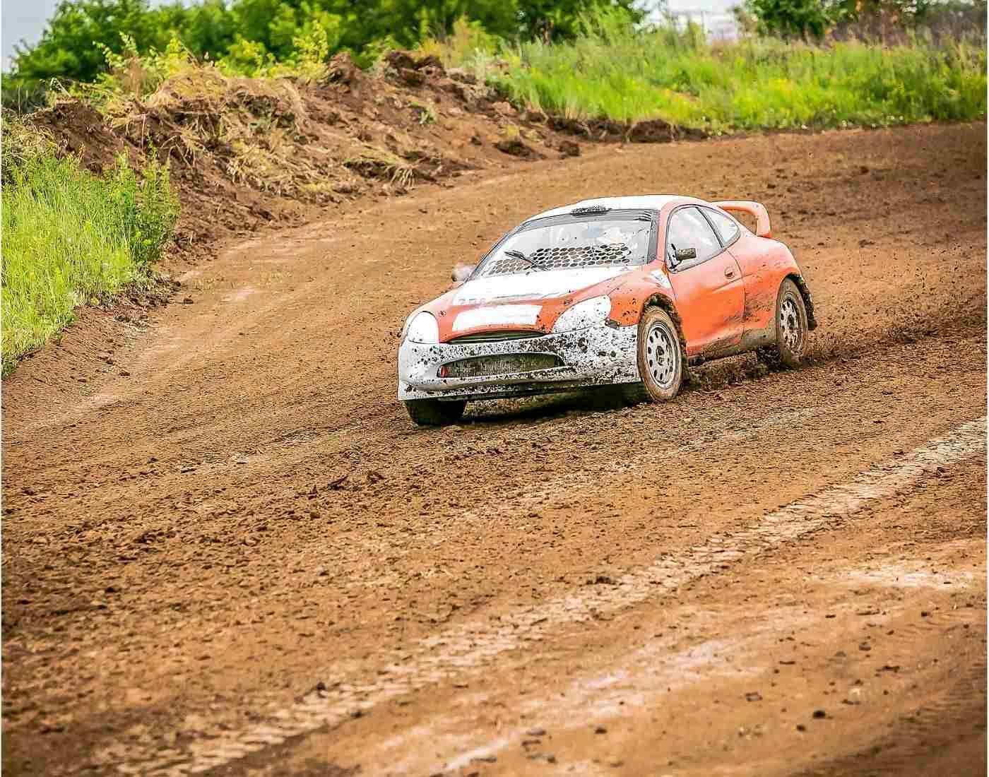 Rallying motorsport
