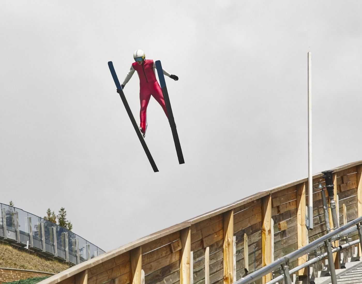 Ski Jumping snow sports