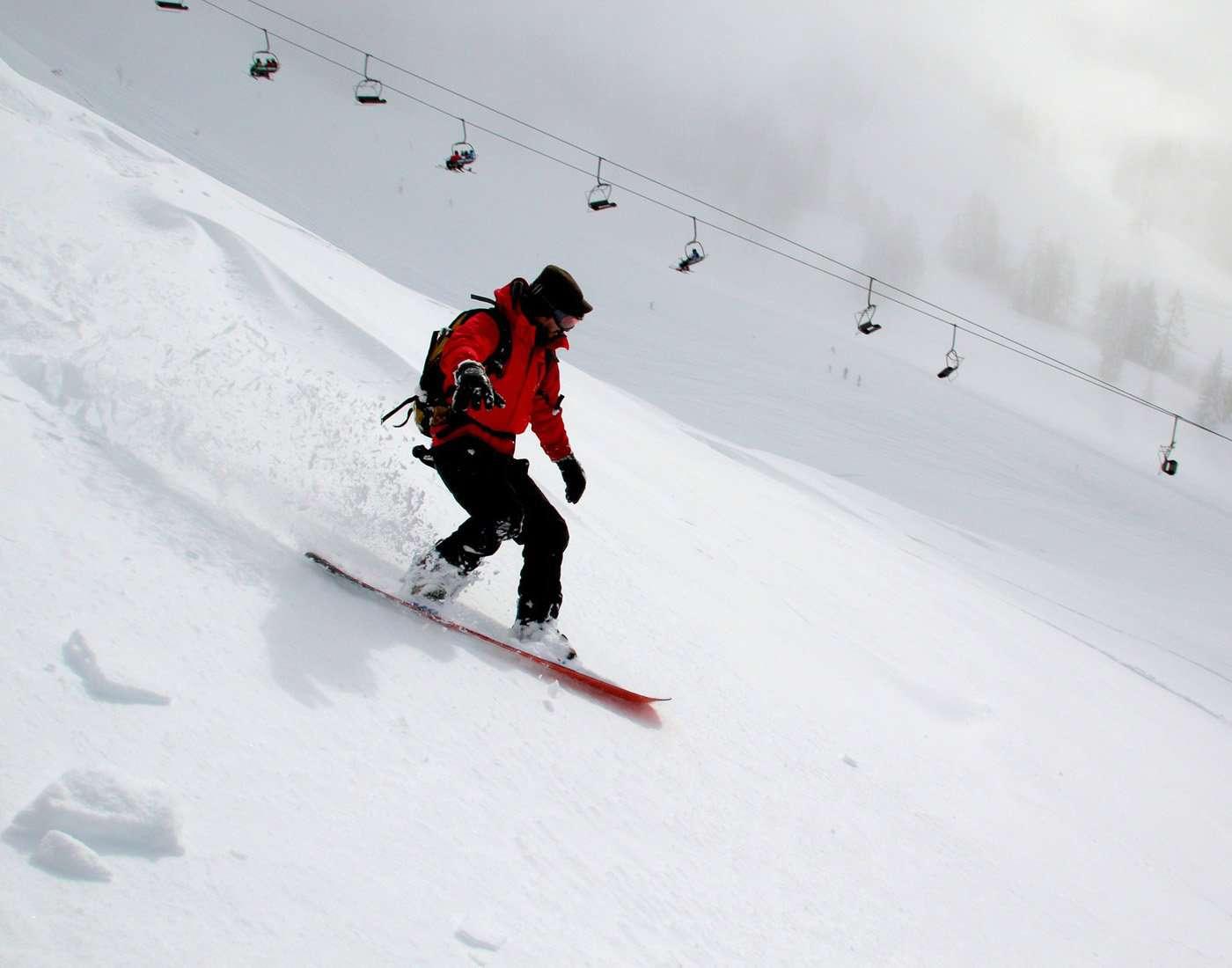 Snow boarding sports