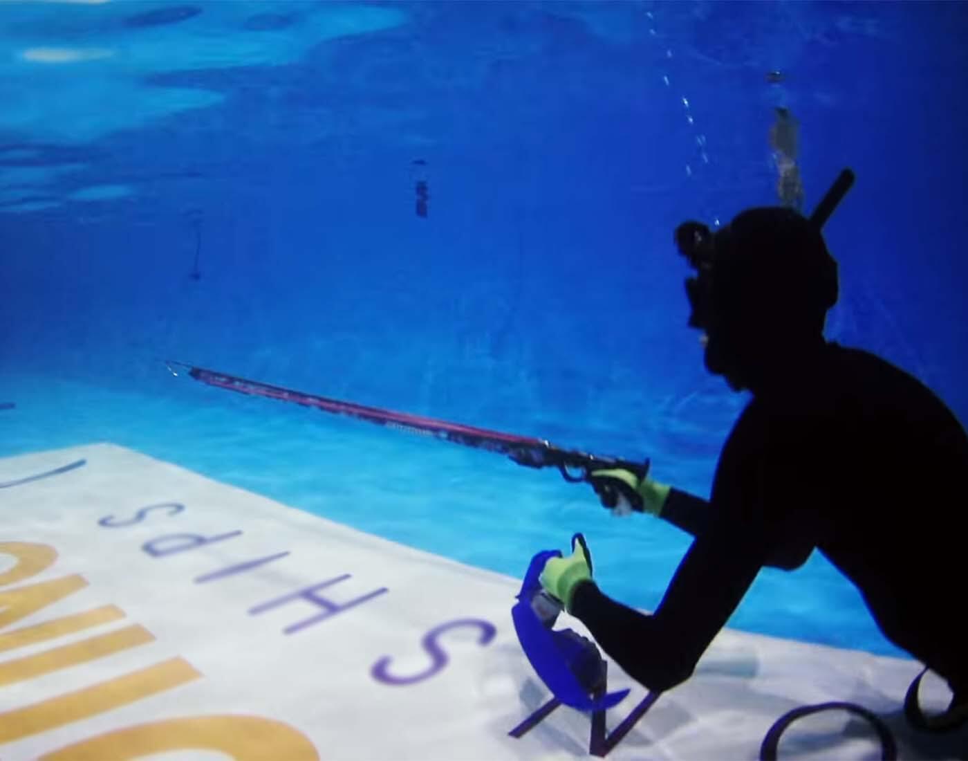 Underwater Target Shooting