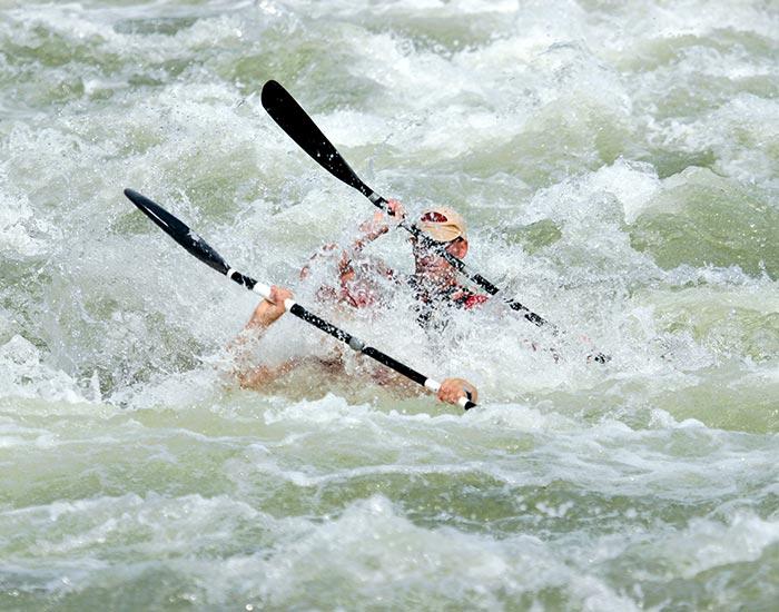 Wild Water Canoeing