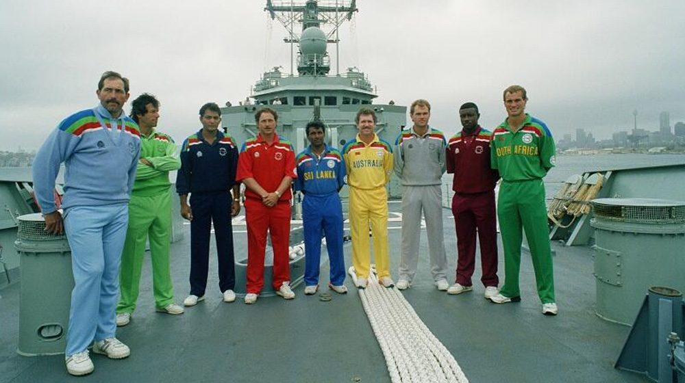 1992 cricket world cup jersey