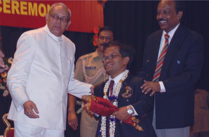 K. Y. Venkatesh honoured