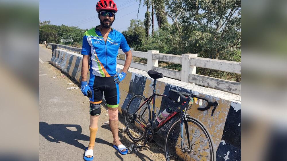 akshay singh cycling