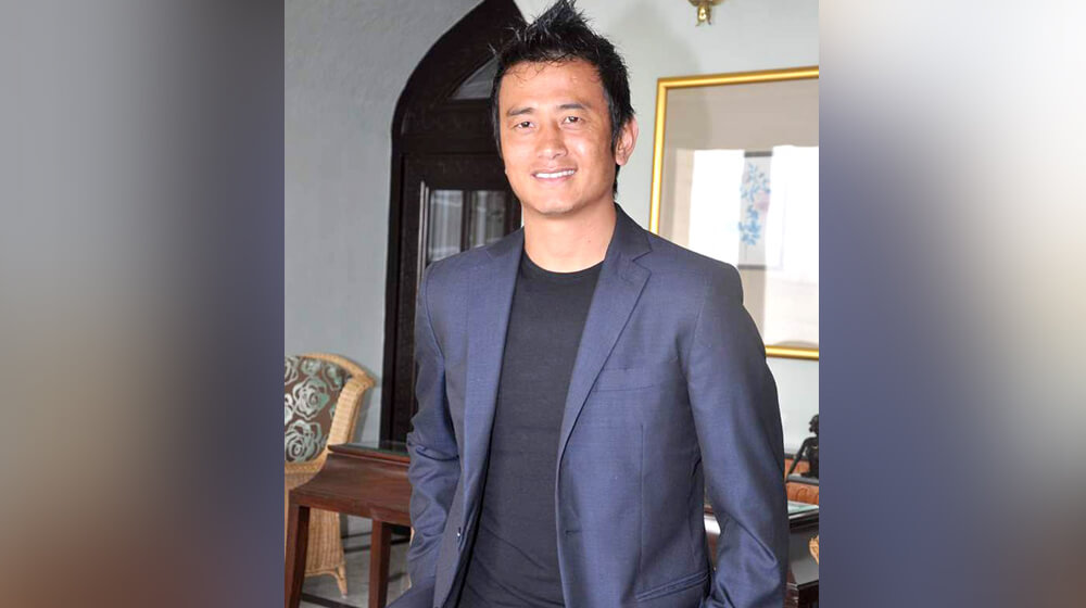 baichung bhutia business