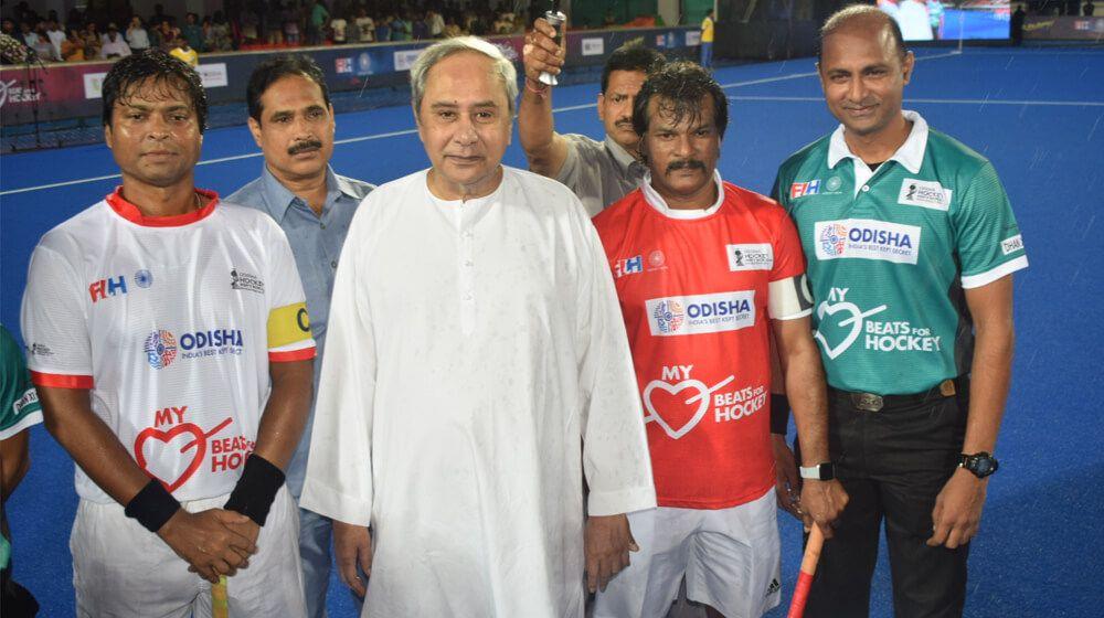 CM Naveen Patnaik Kalinga Stadium