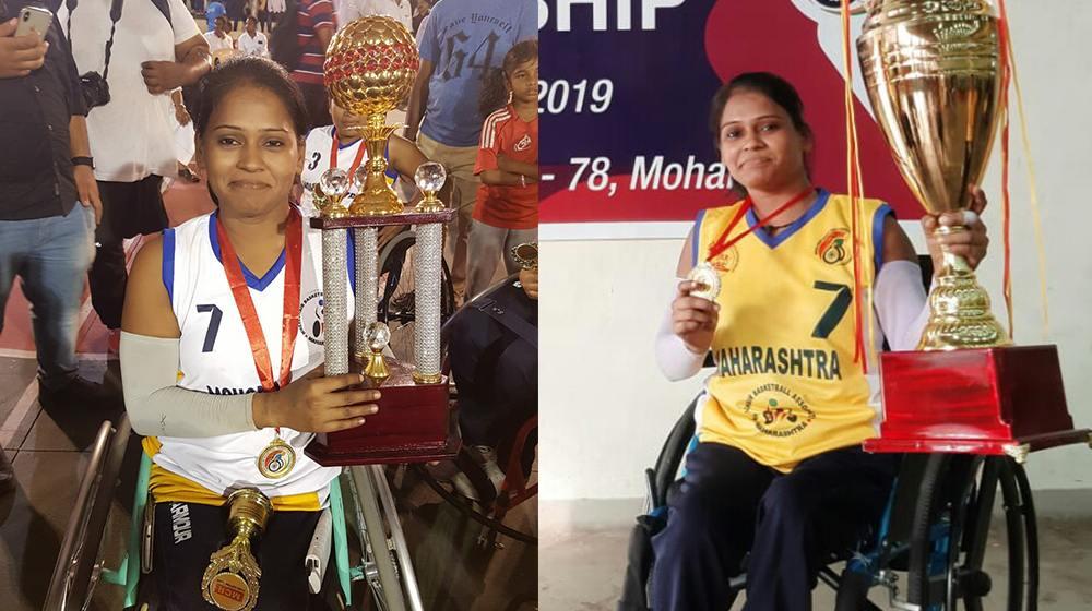 Geeta chouhan with award