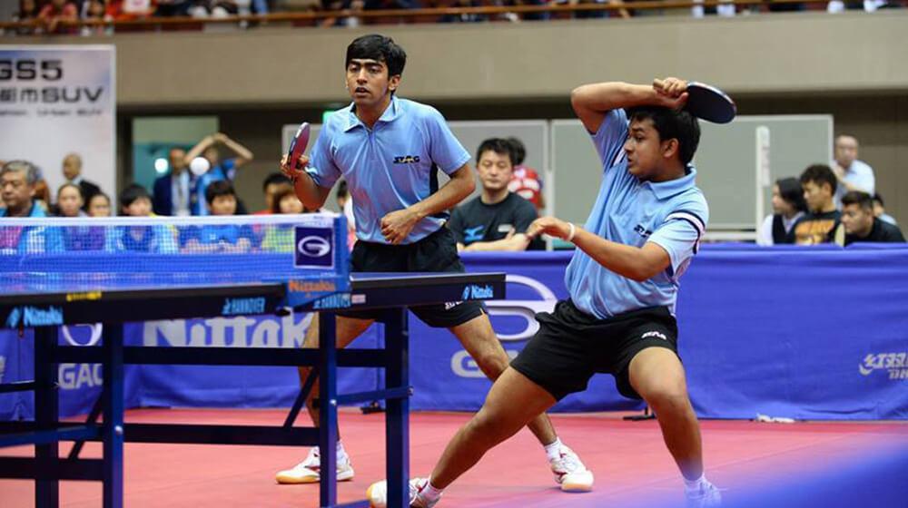 harmeet desai table tennis