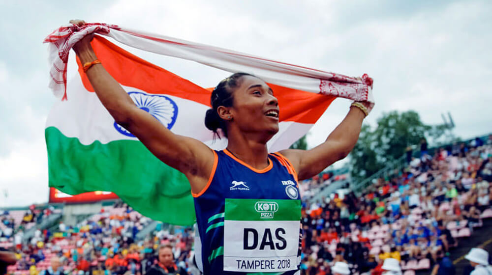 The Sprint Queen of India- Hima Das, Hima Das rare photos