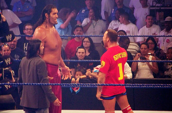 The Giant Singh: Dalip Singh Rana whom we know as The Great Khali