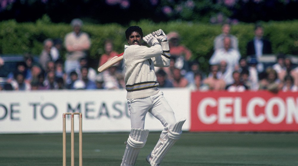 kapil dev at 1983 cricket world cup