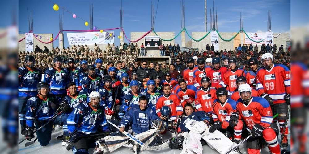 First-ever Khelo India Winter Games in the Union Territory of Ladakh