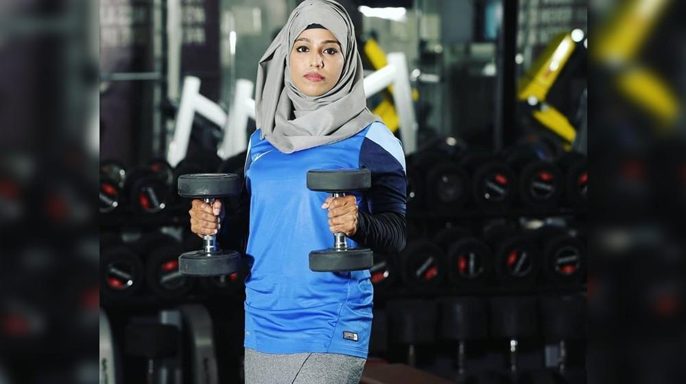 majiziya bhanu powerlifting