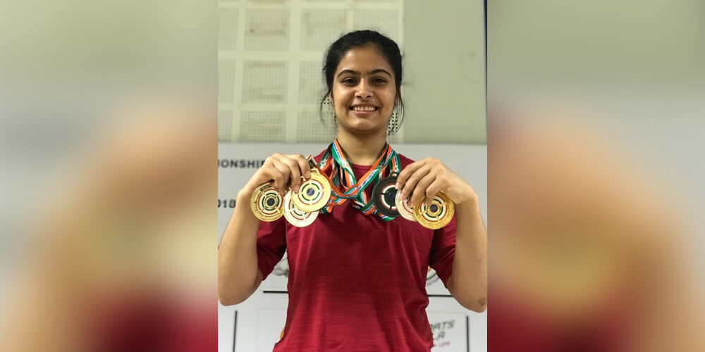 manu bhaker win awards