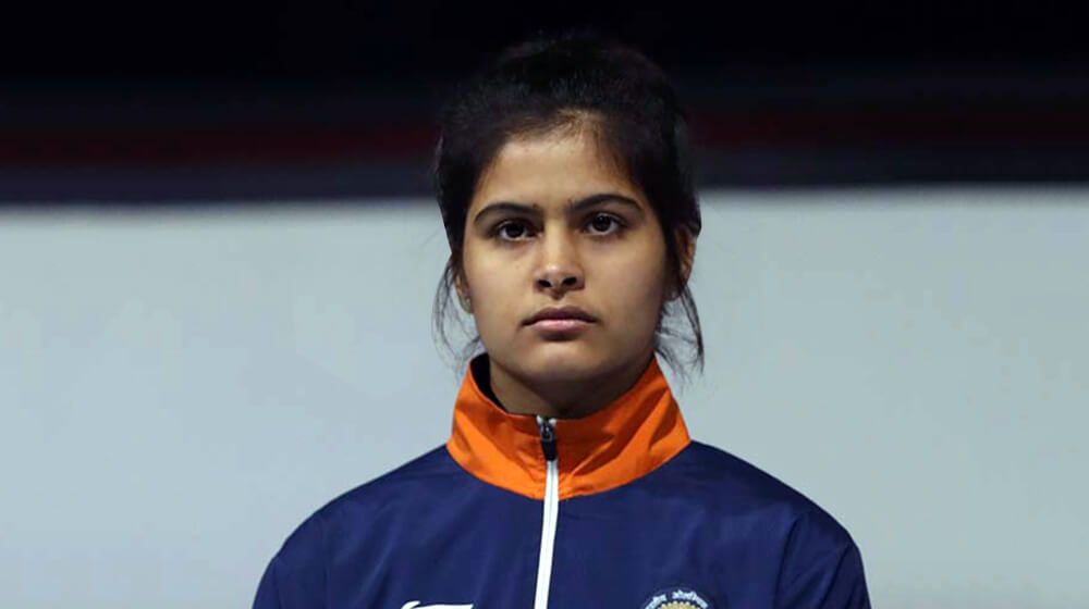 The Shooting Diva - Manu Bhaker, Indian Shooter Manu Bhaker, Manu Bhaker rare images