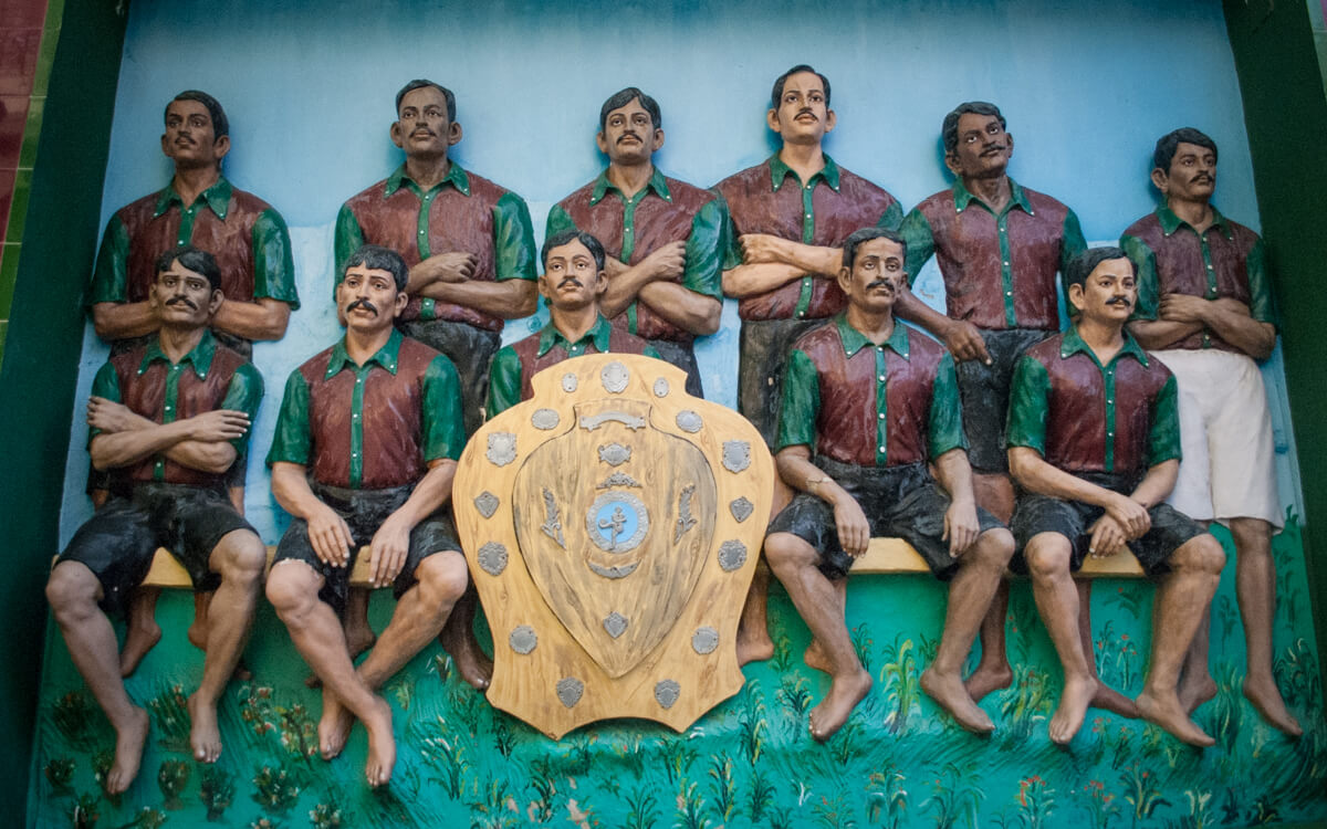 The Immortal Eleven of Mohun Bagan Football Club