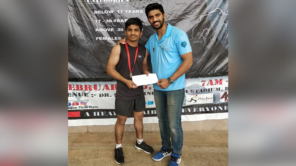 Munny Sharma at CrossFit Open 2018
