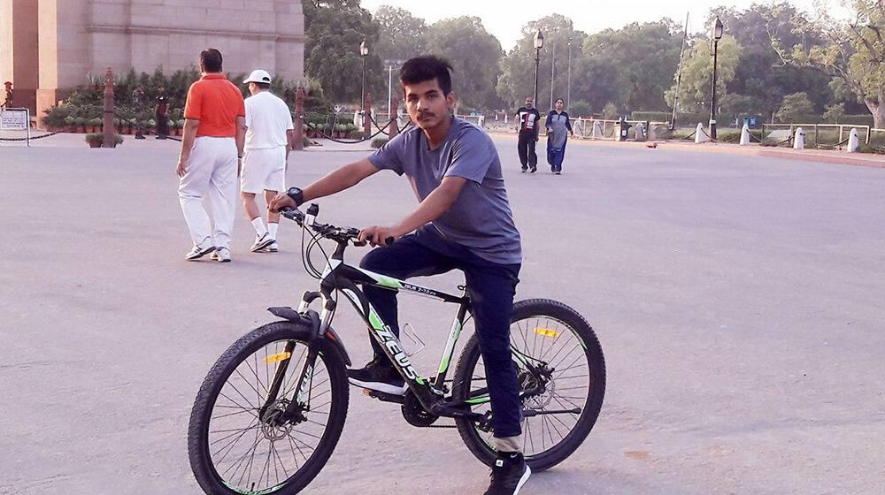 Munny Sharma: a fitness trainer from Delhi