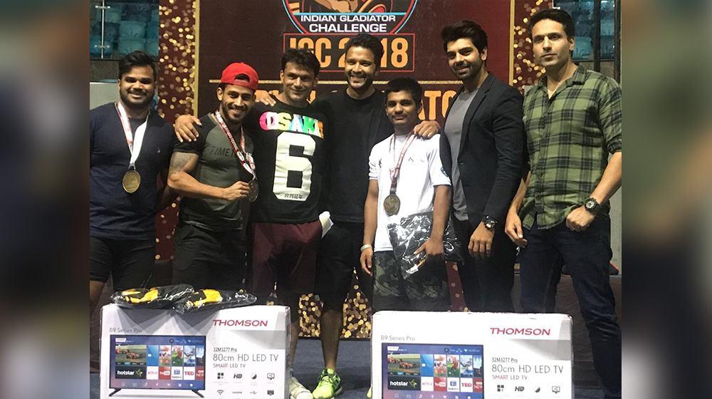 Munny Sharma at India Gladiator 2018