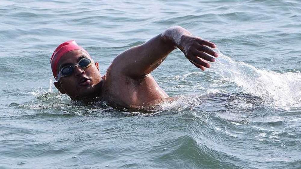 paraplegic swimmer mohammad shams aalam shaikh