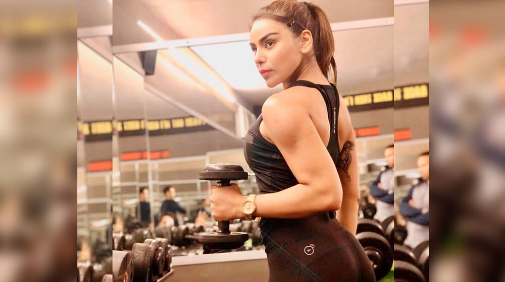 shweta rathore fitness physique