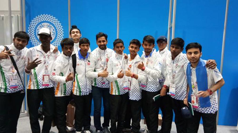 India won 362 medals at the Special Olympics World Games