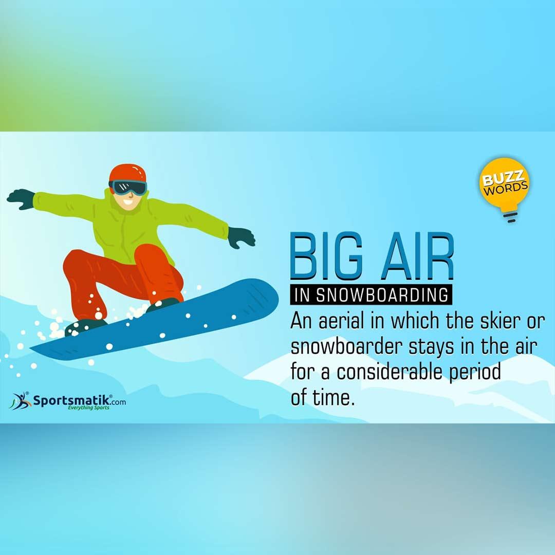 big air in snowboarding