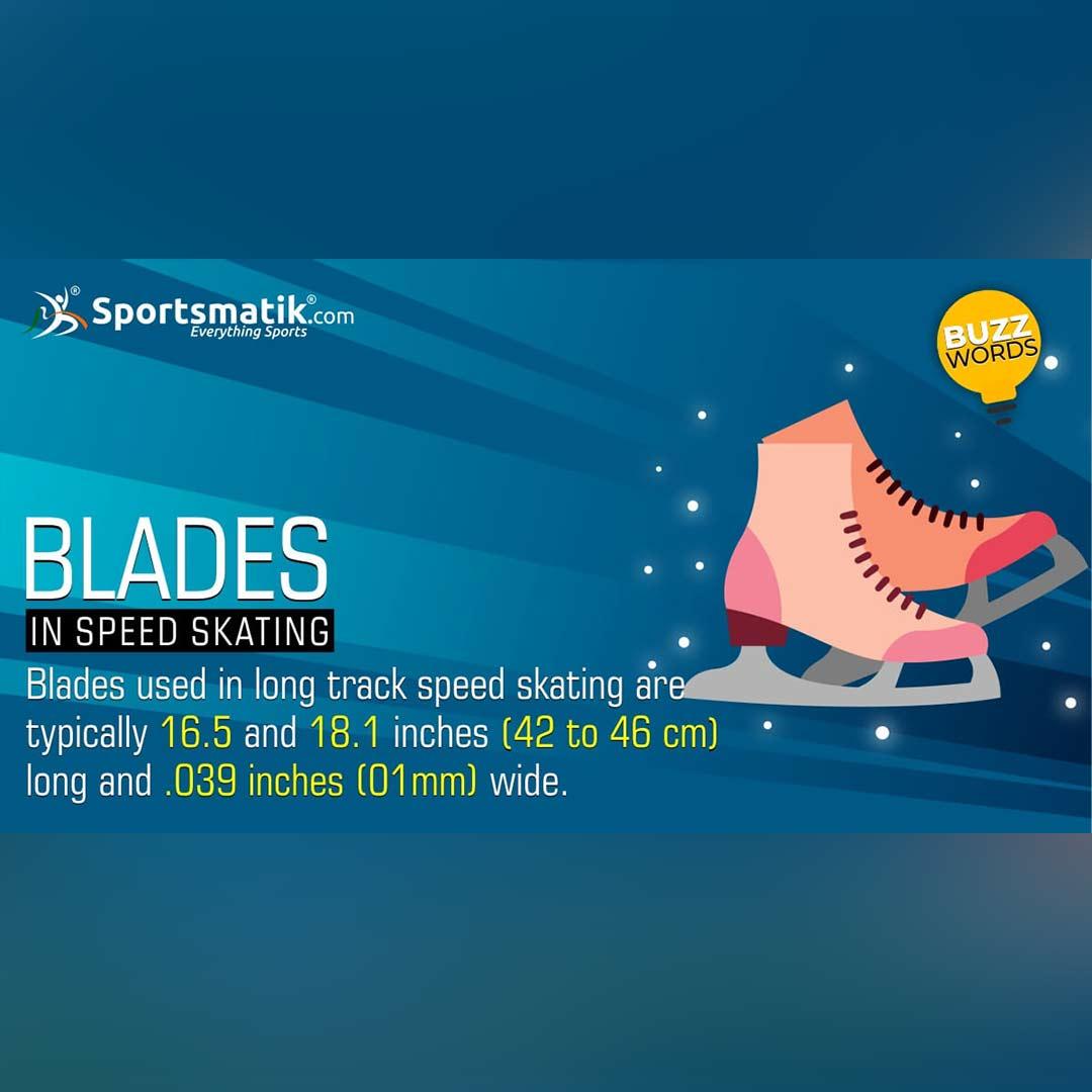 blades in speed skating