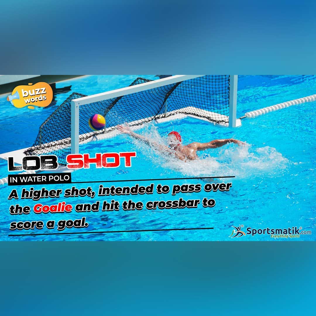 Lob Shot in water polo