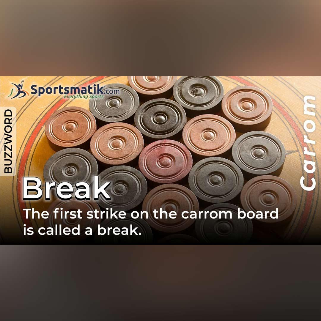 break in carrom