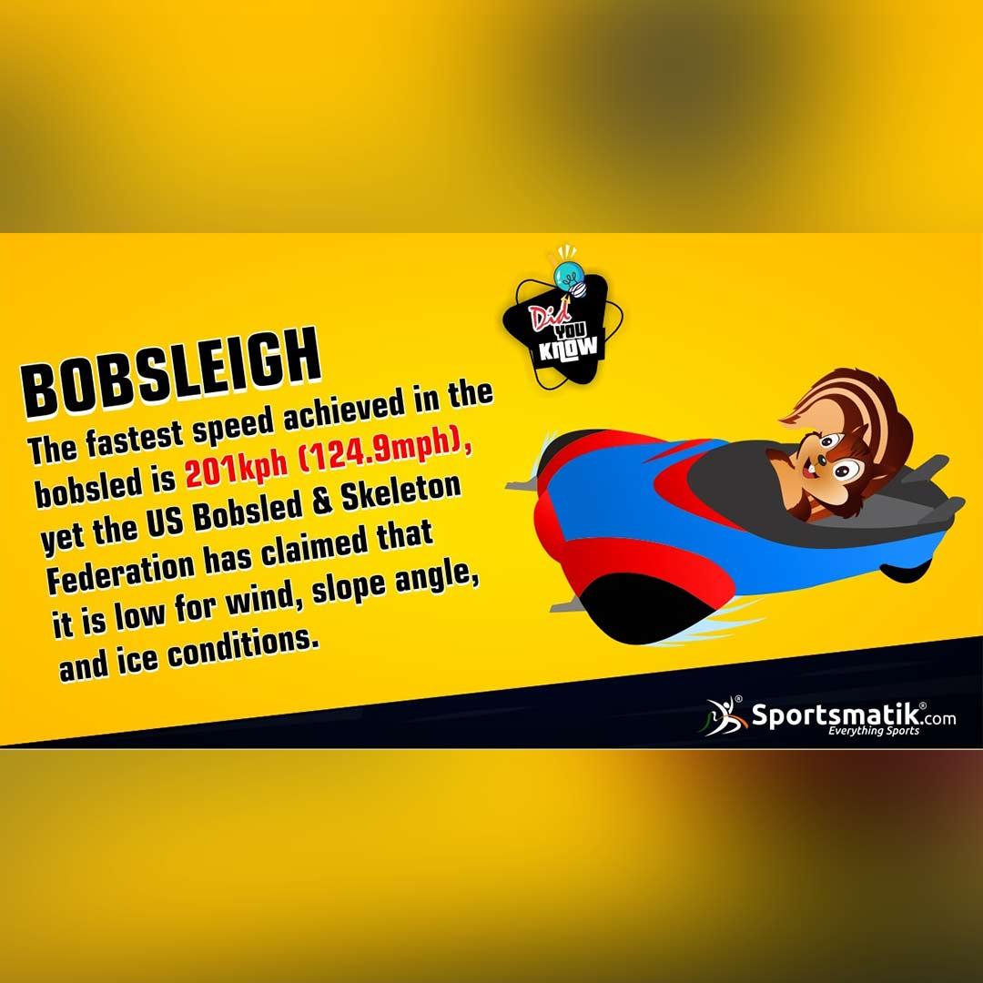 bobsleigh fun fact