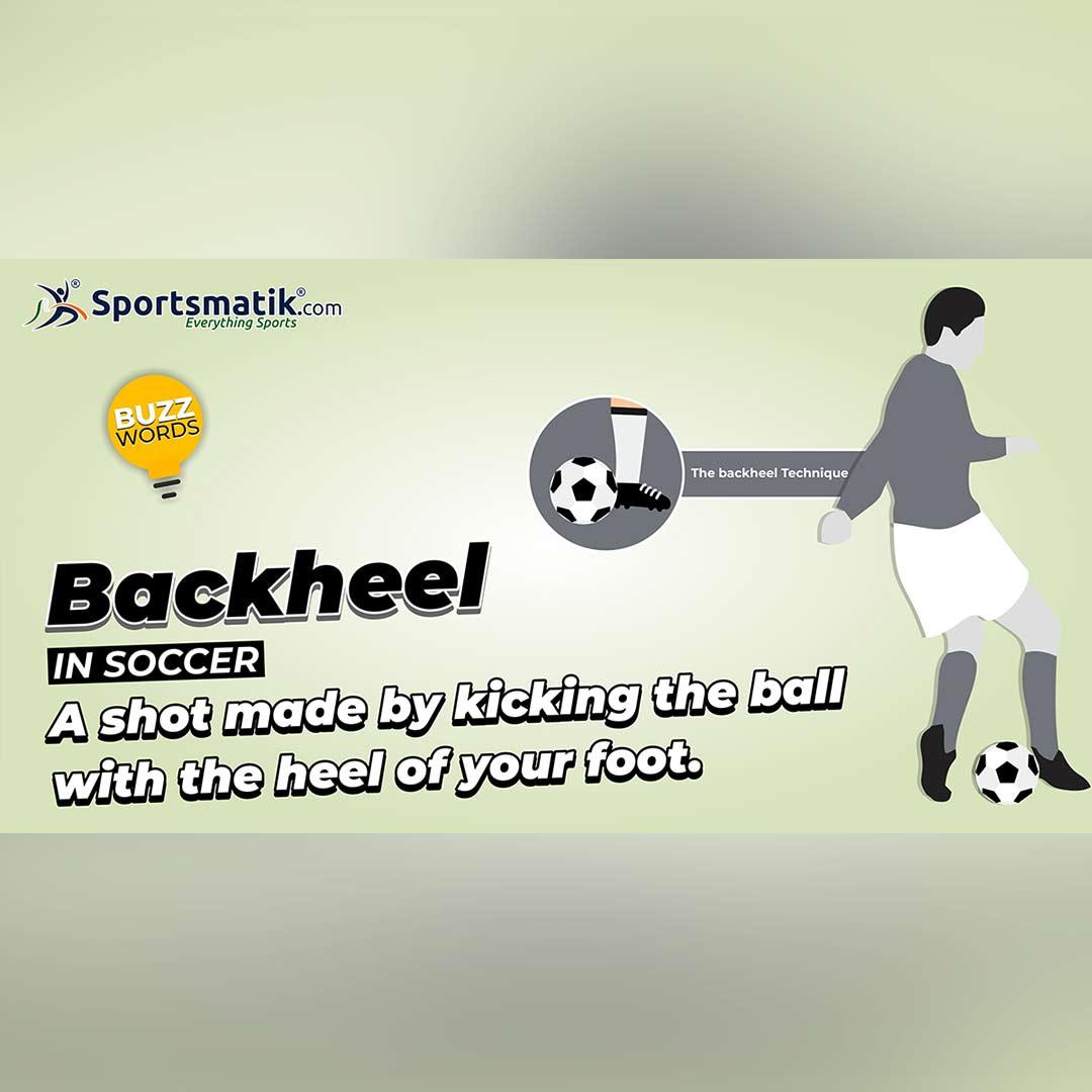 backheel in soccer