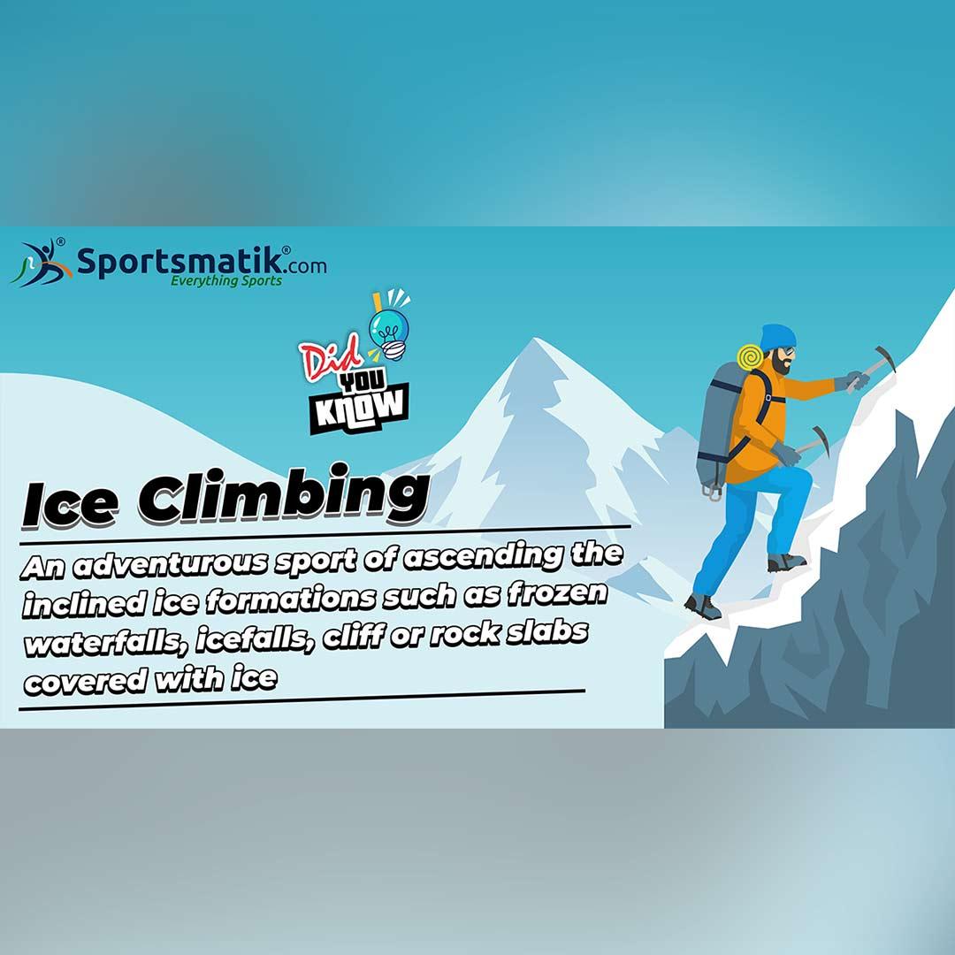 ice climbing facts