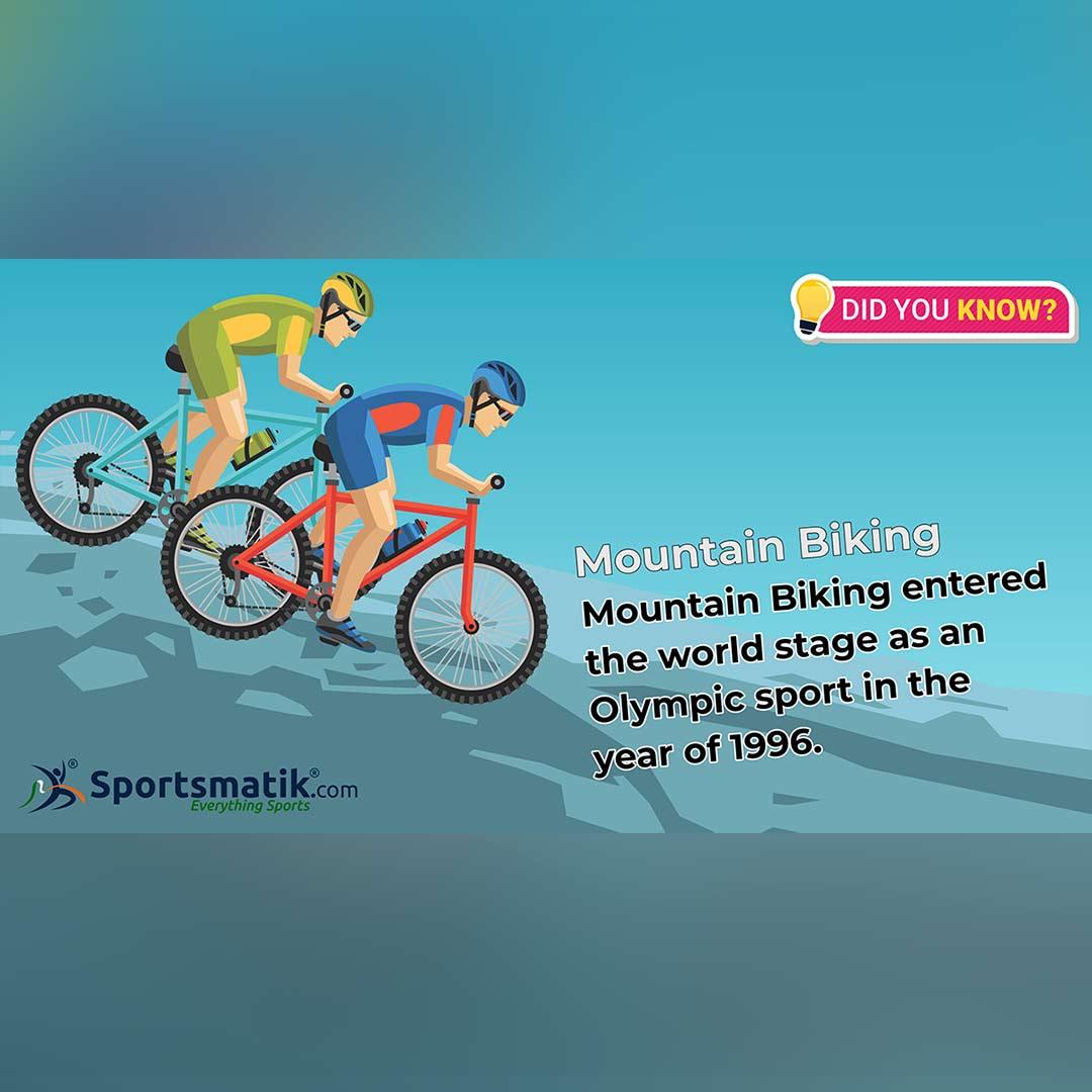 mountain biking facts