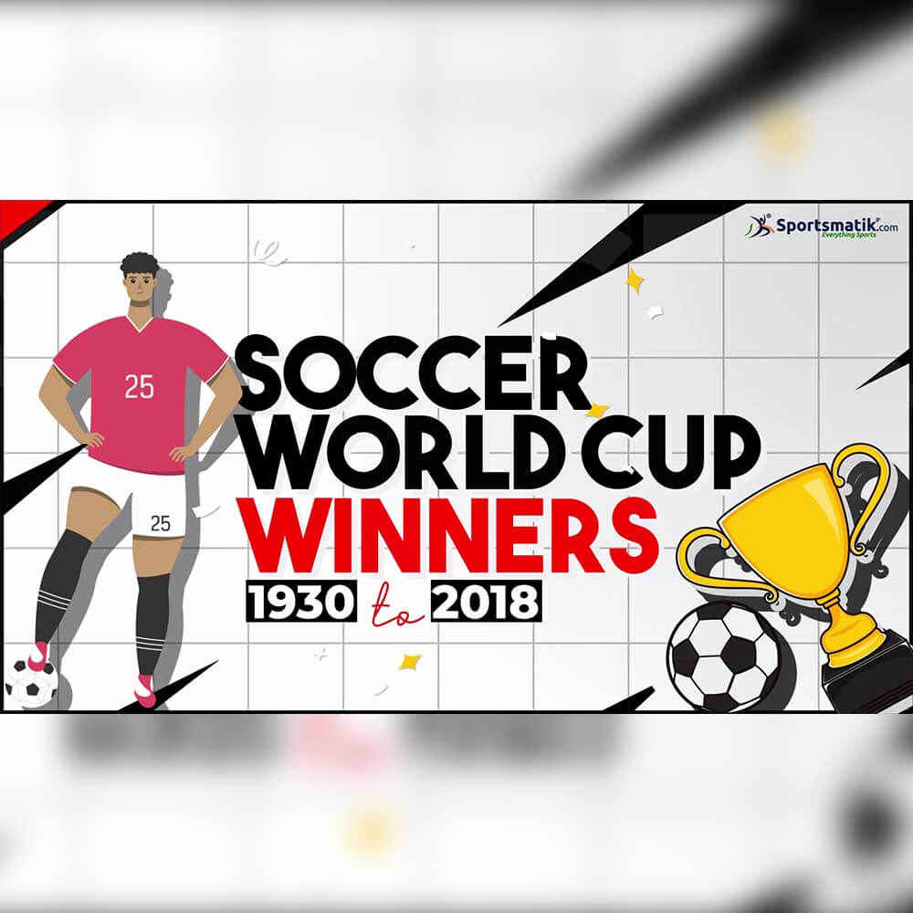Most Football World Cup Winning Teams (Men's) | 1930 to 2018 Winners | 21 World Cup Editions