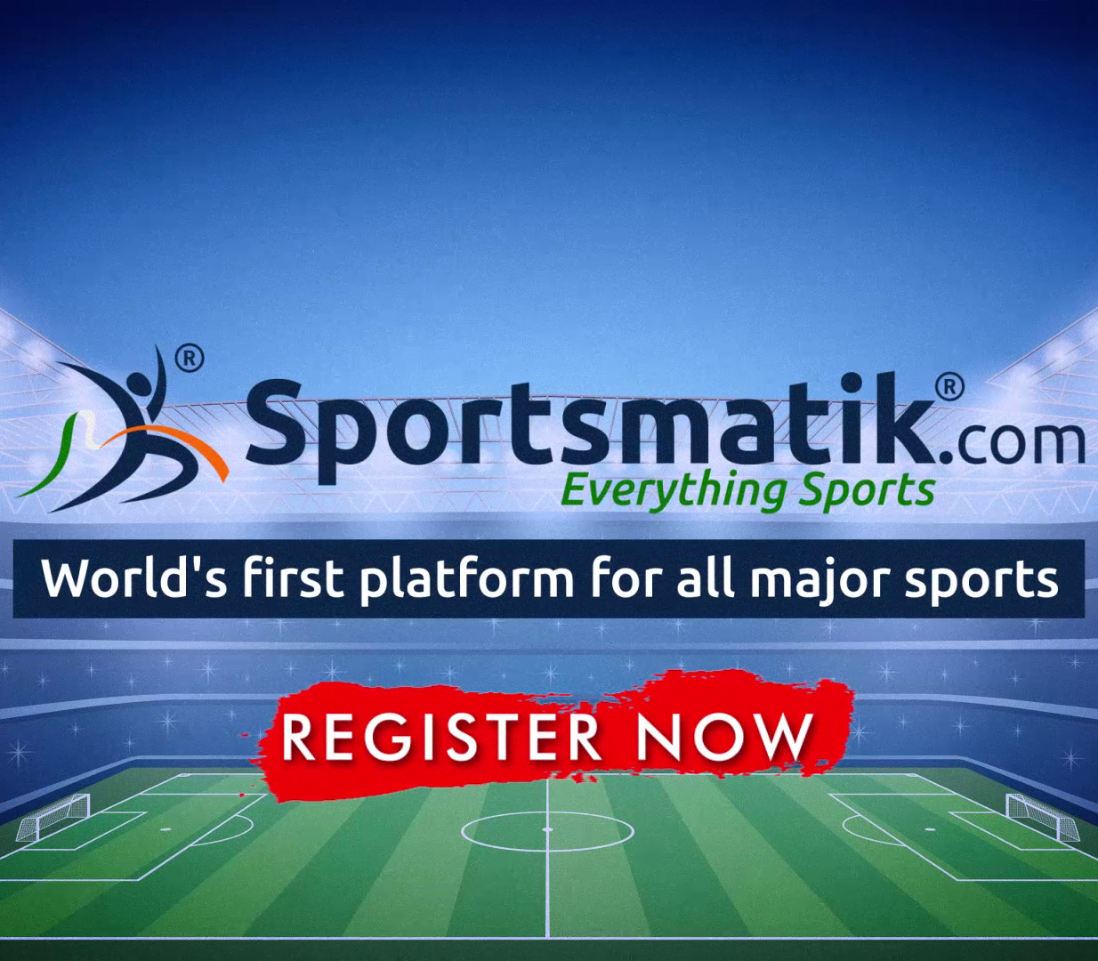 Register as a athlete