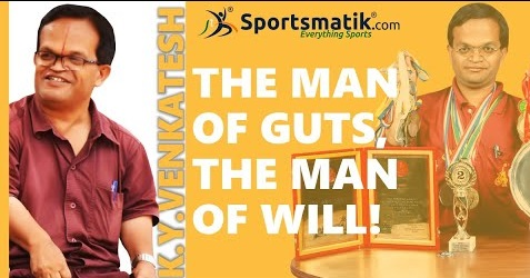 K. Y. Venkatesh - The man of Guts, the man of Will!