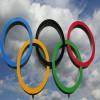 Giant Olympic Rings make a return to Tokyo Bay bri...