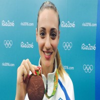 Anna Korakaki to be the first-...