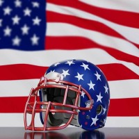 American Rules Football - Helmet