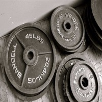 Powerlifting - Iron Plates