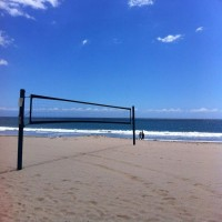 Net and Poles