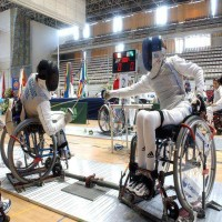 Wheelchair Fencing - Wheelchair