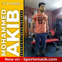 Mohammed Akib Sports Fitness Trainer