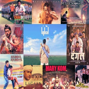 Top notch bollywood movies based on sports