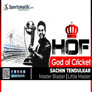 The God of Indian Cricket finally inducted into the ICC Hall...