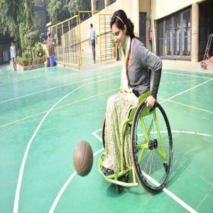 Inshah Bashir: The First Woman Wheelchair Basketball Player from J&K