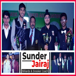 Sunder Jairaj: Nourishing the young talents of billiards